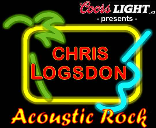 Chris Logsdon Logo:  It's more than just great music...it's REAL entertainment!